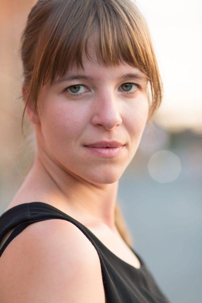 Portrait einer Schauspielerin
